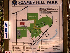 Soames Hill map board