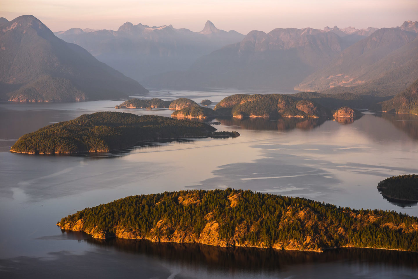 Desolation Sound Aerial