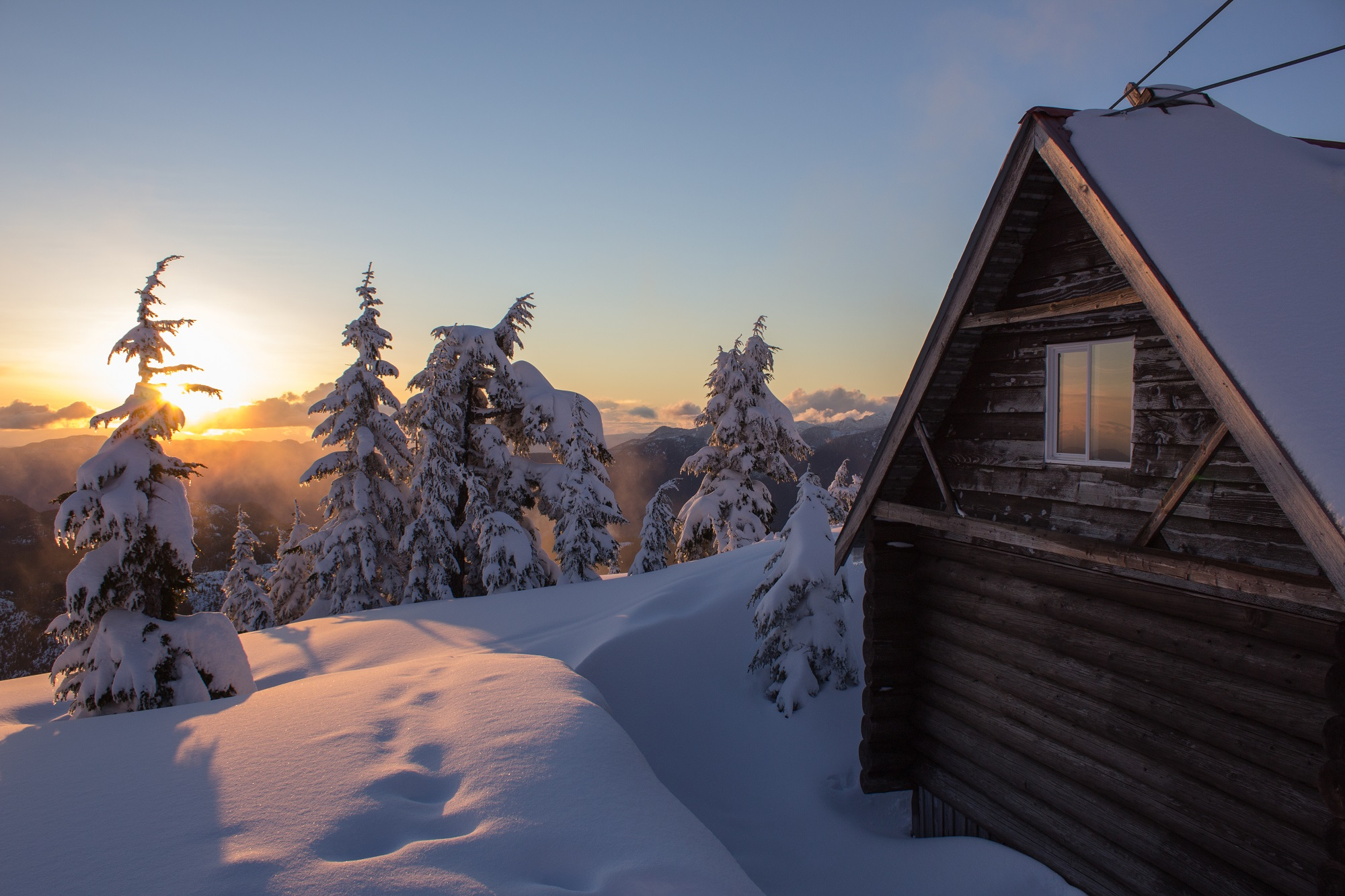 Cottage Vacation Winter Activities In British Columbia