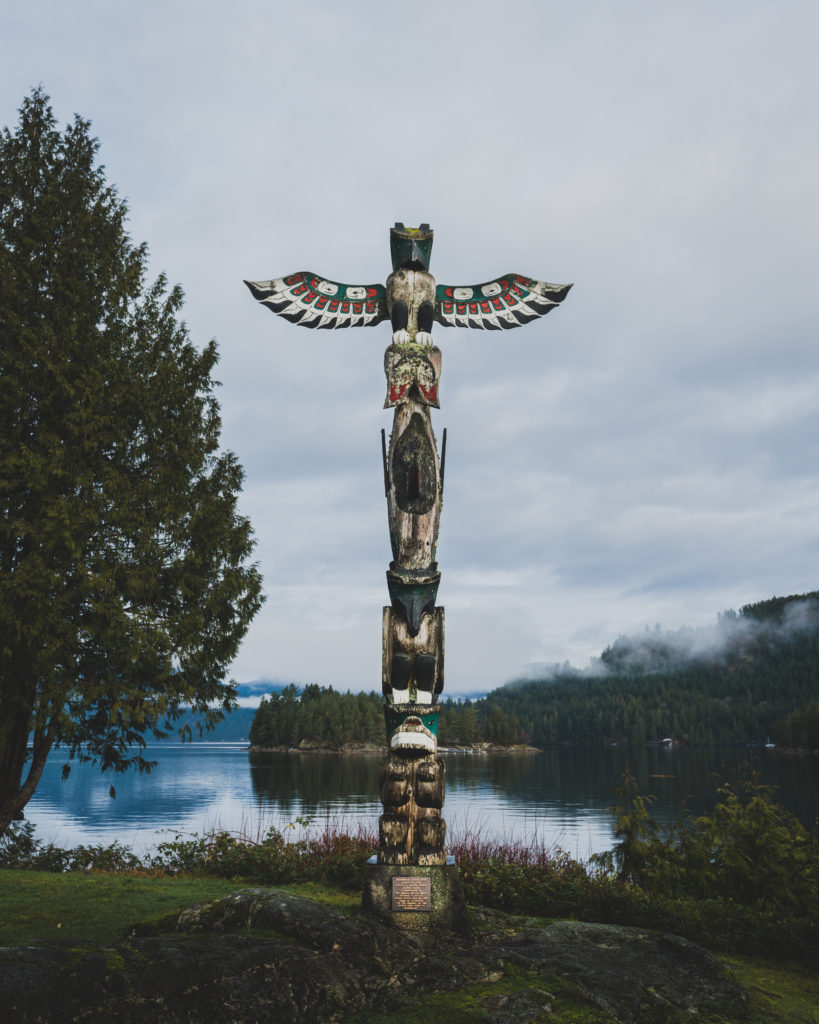 Totem at backeddy
