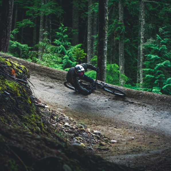 Big berms make for epic bike trails on the Sunshine Coast