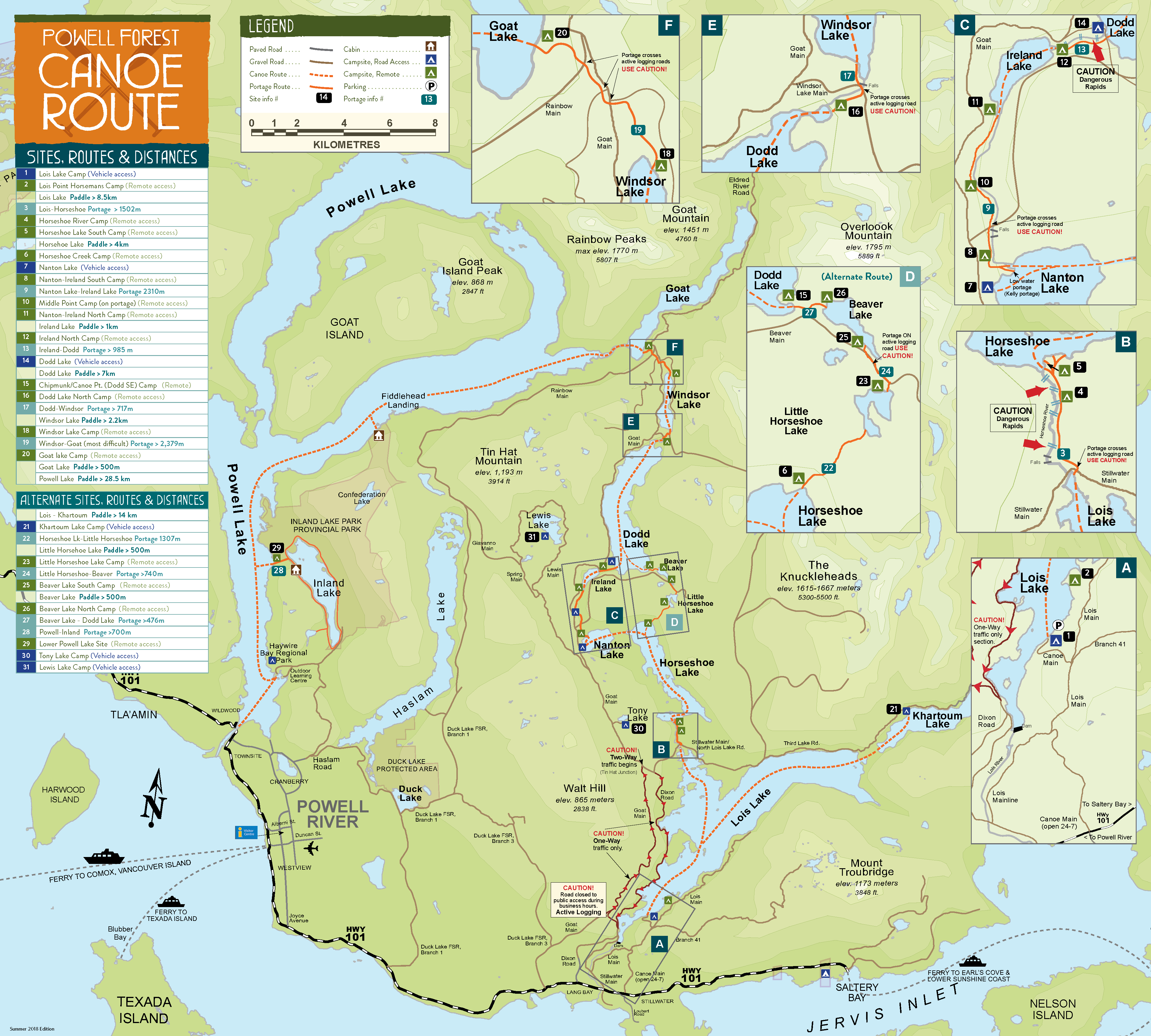 Maps | Plan Your Trip | Sunshine Coast Tourism - Official Site